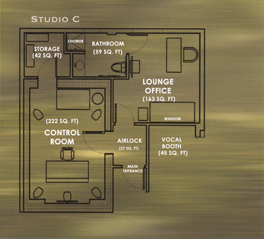 Studio C - Floor Plan New Size